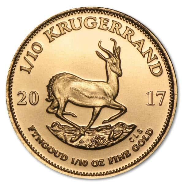 Gold Krugerrand 1/10 oz - image 2