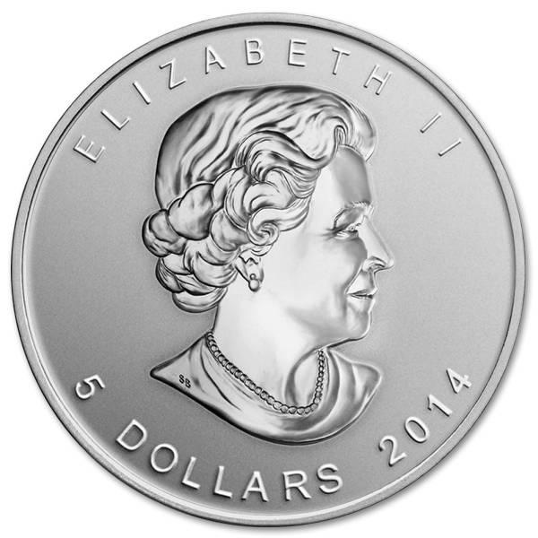 Silver Canadian Maple Leaf 1 oz - image 1