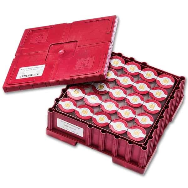 Masterbox zestaw 500 srebrnych monet Wiedeńscy Filharmonicy 1 oz