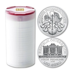 Zestaw 20 szt. srebrnych monet Filharmonicy Wiedeńscy 1oz
