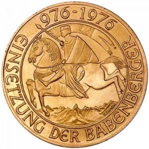 Złota moneta 1000 Schillingów Austria
