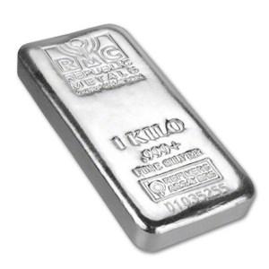 Sztabka srebra 1kg LMBA