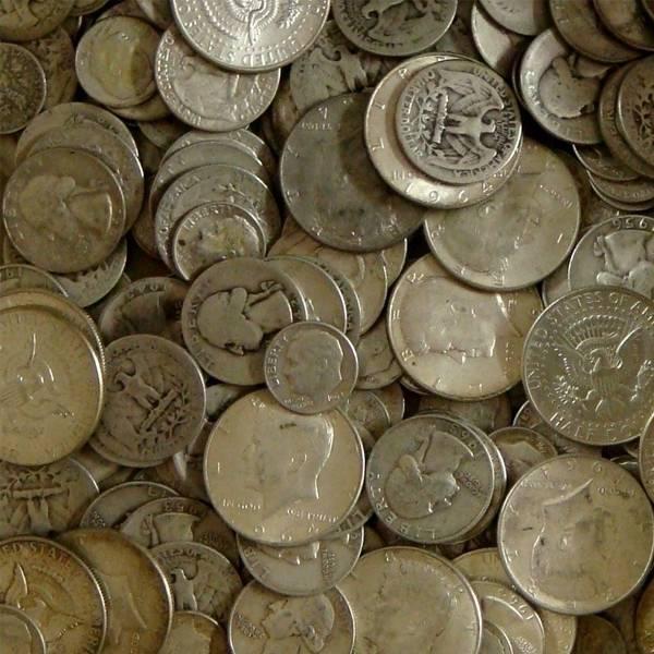 Srebro inwestycyjne (junk silver) 1 oz