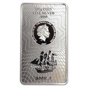 Sztabka srebra Wyspy Cooka