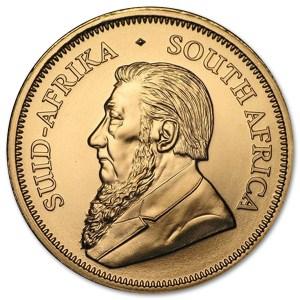 Złota moneta Krugerrand 1oz awers