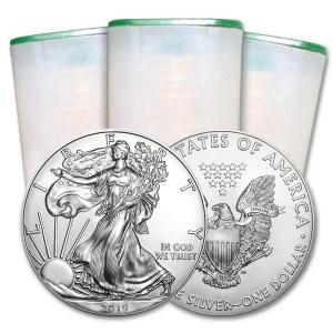 Zestaw 20 x srebrne monety Orzeł Amerykański 1 oz