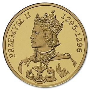 Złota moneta NBP rewers