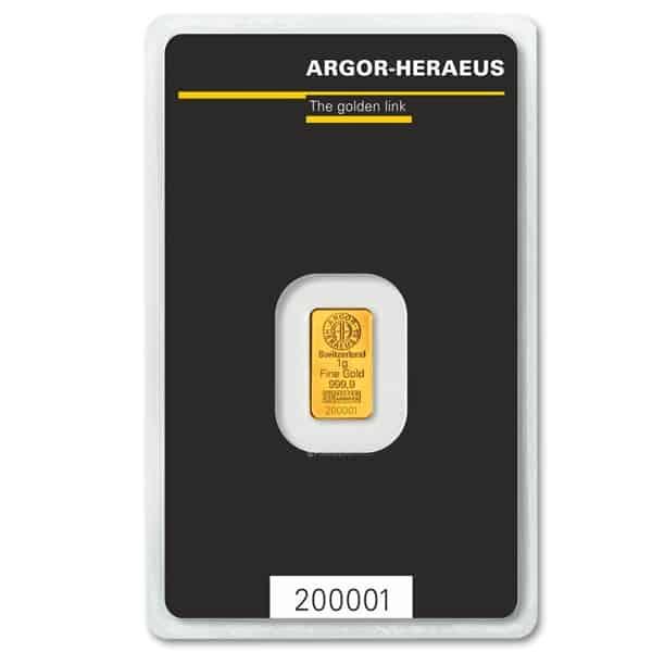Rafinacja złota 1 gram