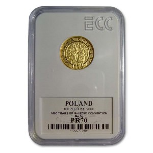 Grading monet złotych