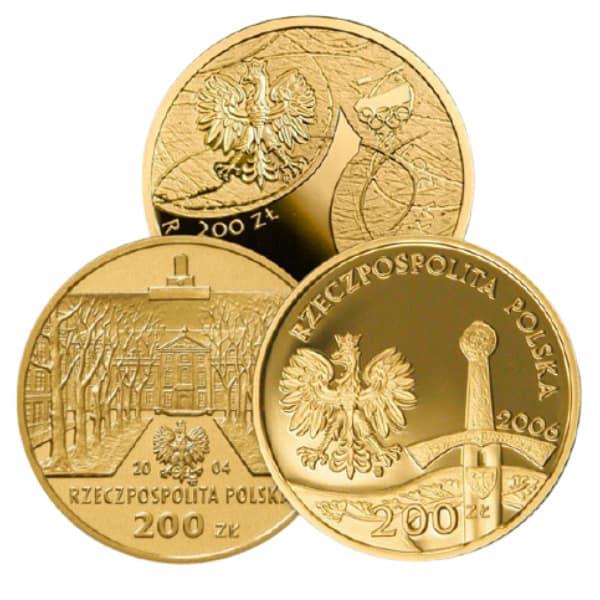 Złota moneta inwestycyjna 200 zł NBP
