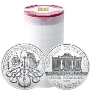 Zestaw 20 srebrnych monet Wiedeńscy Filharmonicy 1 oz