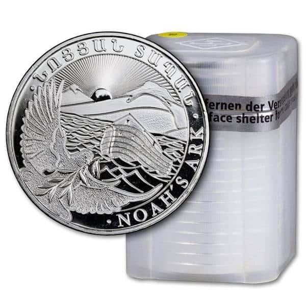 Zestaw srebrnych monet Arka Noego 1oz