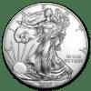 Srebrna moneta Orzeł Amerykański 1 oz awers