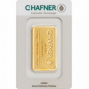 Sztabka złota 1 oz LBMA