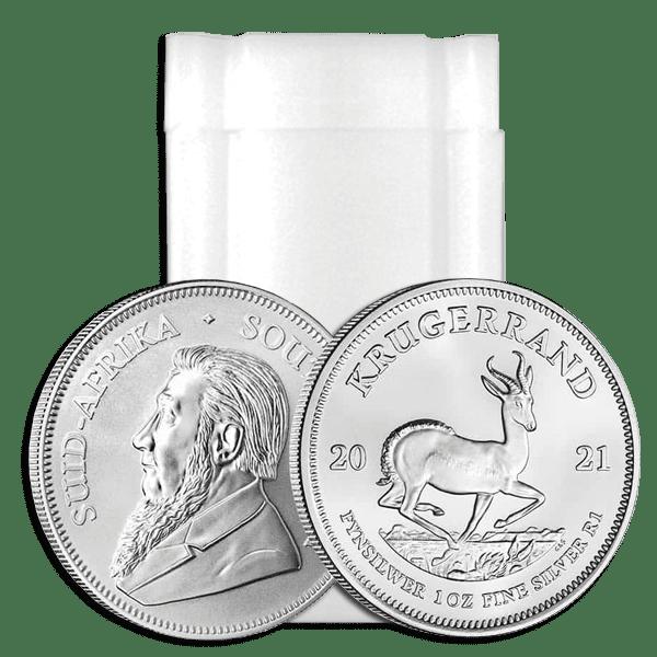 Zestaw 25 szt. srebrnych monet Krugerrand 1oz