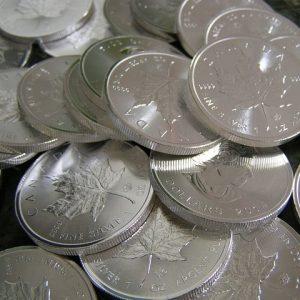 Zestaw srebra inwestycyjnego bullion junk