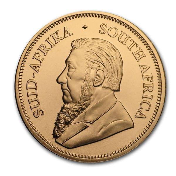 Złota moneta Krugerrand 1oz rewers