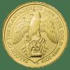 Złota moneta Bestie Królowej: Sokół Plantagenetów 1oz rewers