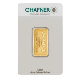 Złota sztabka inwestycyjna 5 g LBMA