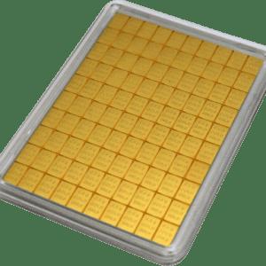 Złota sztabka dzielona 50 x 0,5 grama LBMA