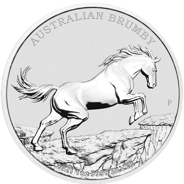 Srebrna Moneta Brumby 2021