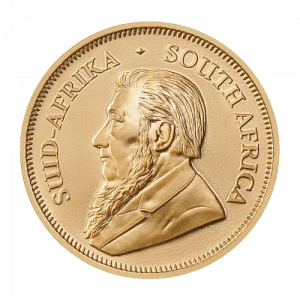 Złota moneta Krugerrand 1/2 oz 2021 rewers